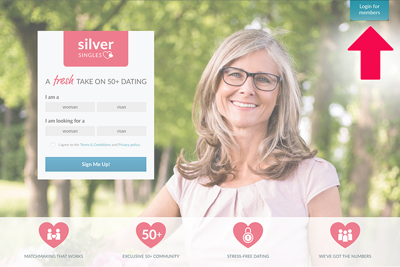 silversingles login