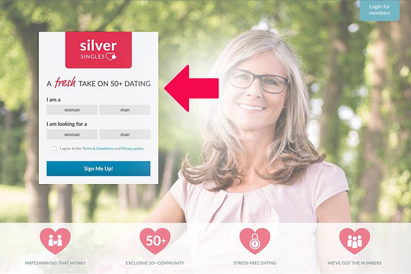 silversingles login US